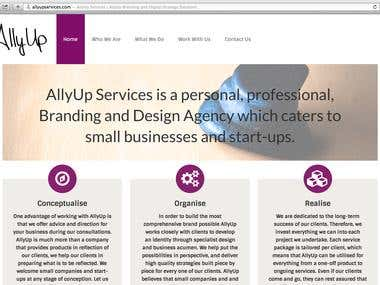 allyupservices.com Website