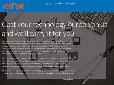ITD3esk Landing Page Blurb
