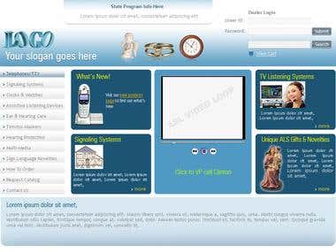 Club / Association Website Design