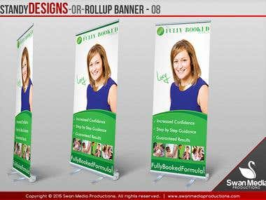 Standy Banners, Roll up Banner, Pull up Banners
