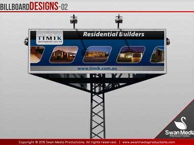 Outdoor Billboard Designs