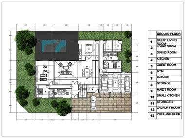 Floorplan design