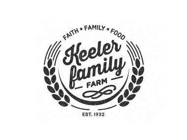 Keller farm logo