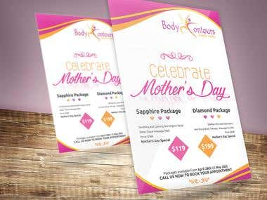 Mother\'s Day Flyer