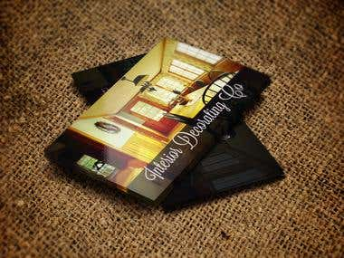 Interior Decorating CO Business cards