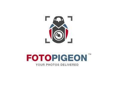FotoPigeon logo design