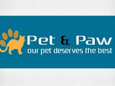 Pet and Paw Logo