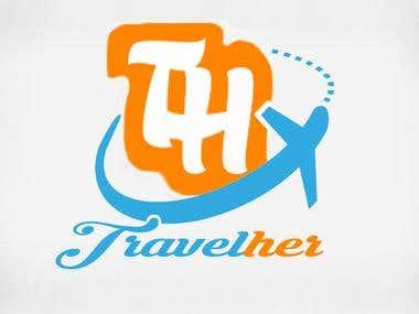 Travelher Logo