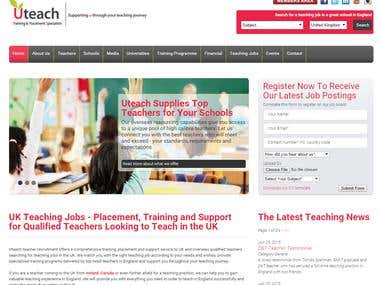 U-Teach Recruitment (One Time Password)