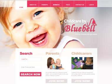 Childcare by Bluebell (Wordpress site)