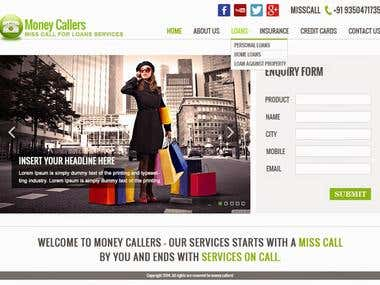 Moneycallers.com website