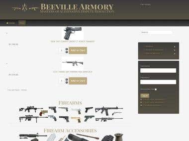 Beeville Armory(Joomla Plugin for Virtuemart checkout)