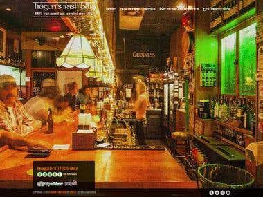 Build a Website for an Irish Pub