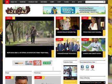 aze.az / aze.co (News Portal)