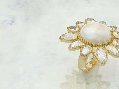 Jewellery Renderings