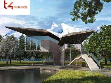 Futuristic house