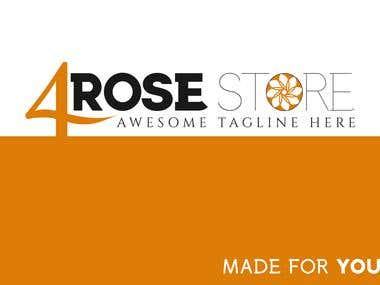4RoseStore Logo