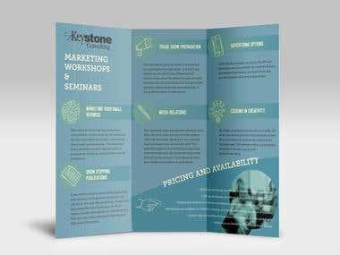Brochure redesign