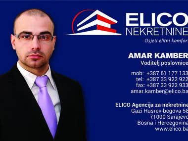 Bussines card - MANAGER