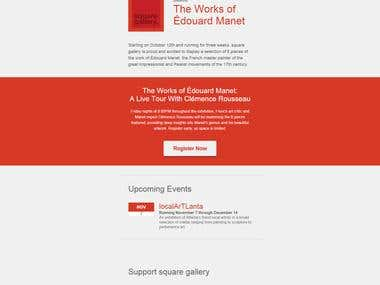 Responsive Email Template 1