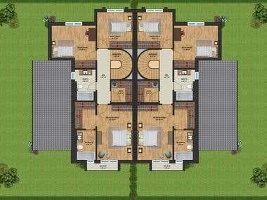 Floor Plan (3d or 2d)