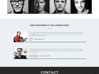 Team Page Design