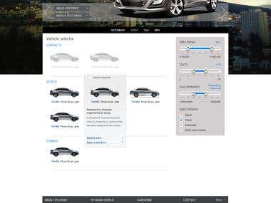 Hyundai SA - Website Design