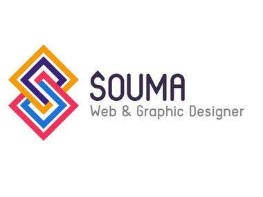 My New Logo: Souma Web & Graphic Designer