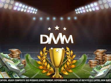 DMM Pronos - Socail Media Design