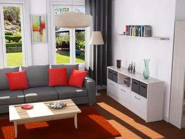 Room render