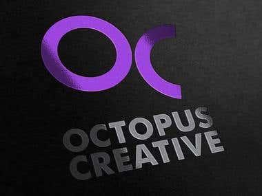 Logo design for Octopus Creative Studio