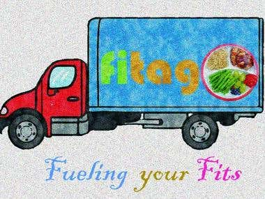 A logo for company name \\\'Fitago\\\'.