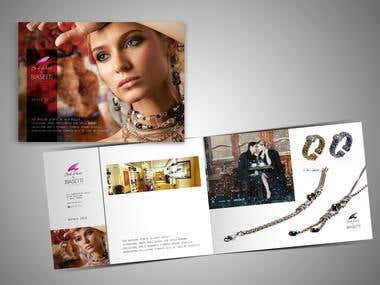 Jewelry store seasonal booklet
