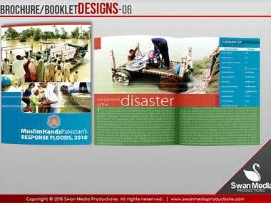 Brochure/Booklet/Catalog Designs