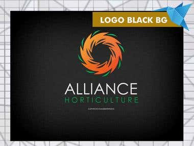 Logo Black Background