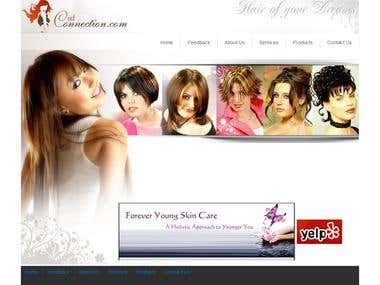 Website for Hair Salon