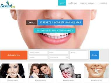Web para dentista