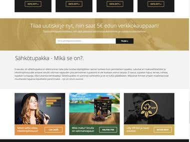 E-cigarette | Finland\'s largest electrical Tobacco Shop