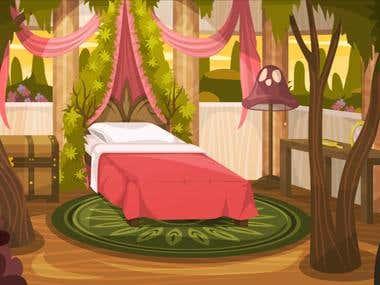 Bedroom Background