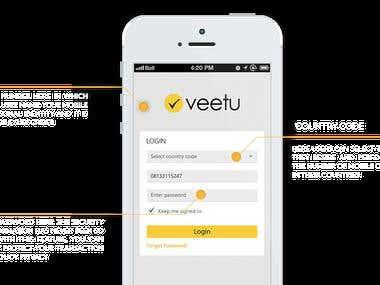 Veetu :: Ecommerce Application i developed
