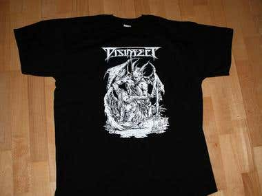 Disinfect | T-shirt | Germany Band