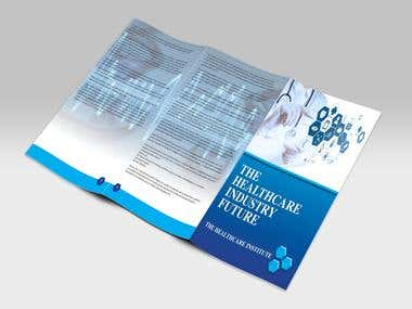 Brochure for health care facility