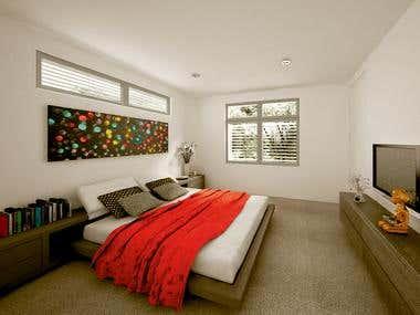 Villa bedroom