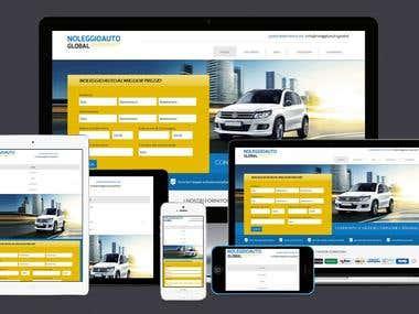 Web Application - Rental Car Booking