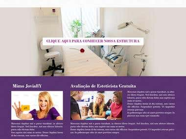 Website Design for a Beauty Clinic