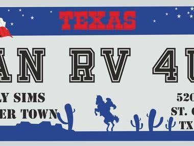 RV Plate