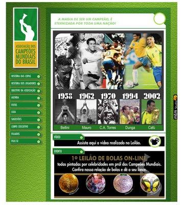 Site - Campeões Mundiais