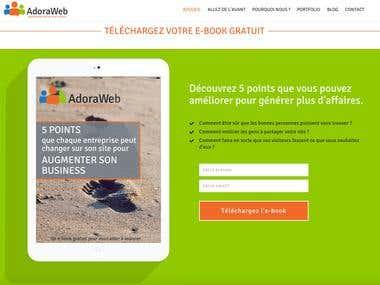 AdoraWeb Luxembourg Revamp
