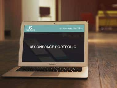 OnePage Portfolio