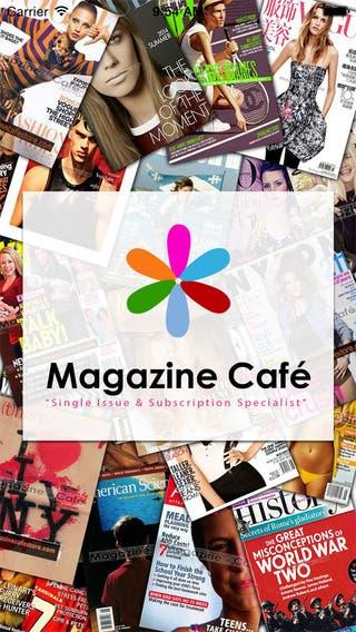 Magazine Cafe Store - Print Magazine Newsstand